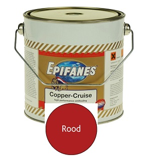 Epifanes Copper Cruise 2,5 liter rood