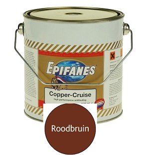 Epifanes Copper Cruise 2,5 liter roodbruin