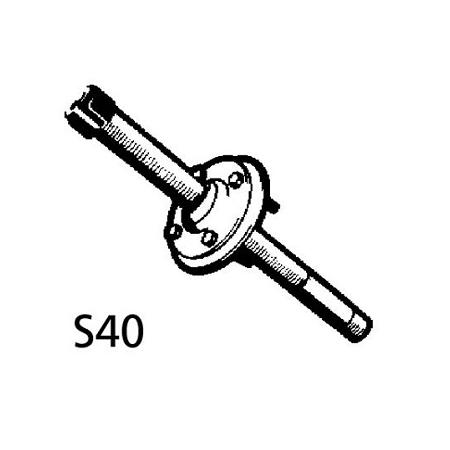 Ultraflex S40 splashwellkit spiegeldoorvoerset