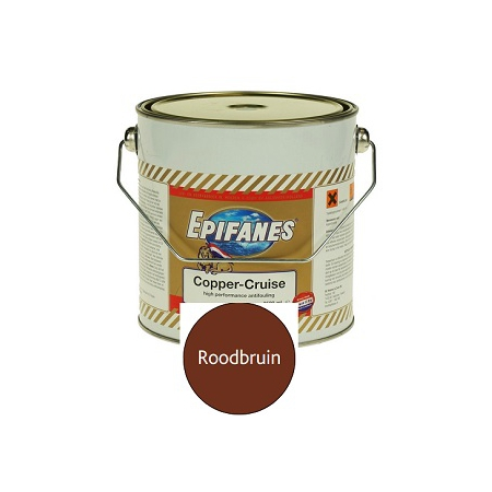 Epifanes Copper-Cruise roodbruin 2,5 liter