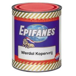 Epifanes Werdol Kopervrij rood 750 ml.