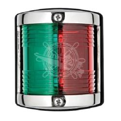 RVS 2-kleurenlicht 11.414 met RVS houder
