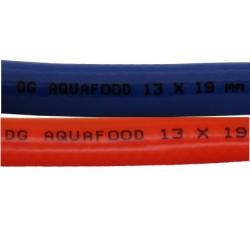 Aquafood drinkwaterslang rood en blauw