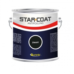 Starcoat Antifouling Zwart 3000 ml.
