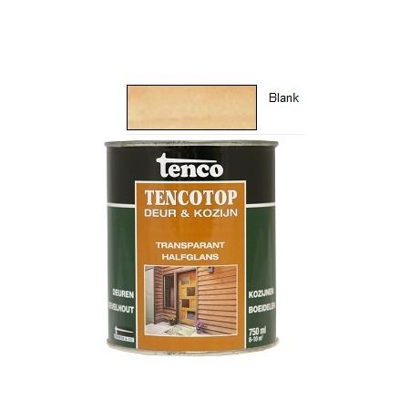 Tencotop transparant halfglans Blank, voorheen Tencorex